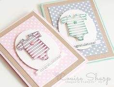 Louise Sharp - Made With Love Baby Cards