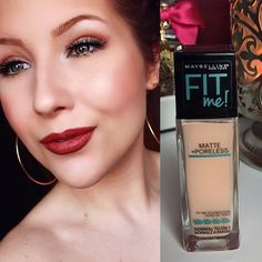Maybelline Fit Me Matte + Poreless review!