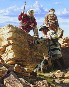 """""""er mundo de manué"""": ALFREDO RODRIGUEZ, obras, cuadros, pinturas. American Frontier, Western Art, Western Cowboy, American Indians, American Indian Art, Native American Art, American History, Man Art, New West"""