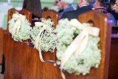 Classic Vintage Wedding: Aisle Decor