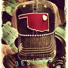 1c8c8cc7fea Custom Love my State Oklahoma Distressed by RebelChickDesigns