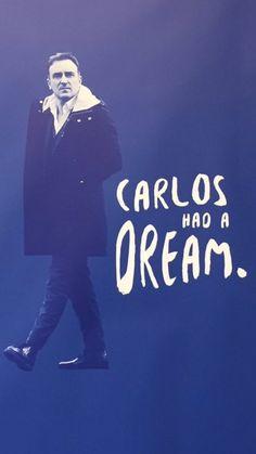 Carlos had a dream... #RePin by AT Social Media Marketing - Pinterest Marketing Specialists ATSocialMedia.co.uk