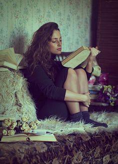 Reading is my sanctuary.
