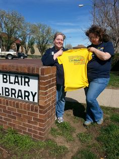 A couple awesome volunteers from the Douglas County Extension Office in Omaha, NE distributed fruit and vegetable seeds while setting up a Seed Library and Seed Share at Blair Library and throughout the state of Nebraska.