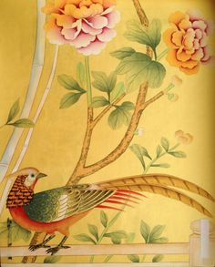 Chinoiserie ornament detail