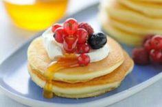 Pancakes con frutti di bosco