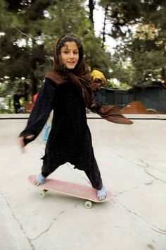 In the midst of Afghan turmoil, there's a movement to teach girls to skate
