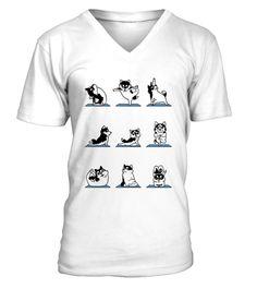 Yoga with Husky Cute Shirt yoga T-shirt, #YogaTshirtsForWomen#YogaTshirts#YogaTshirtsForWomenFunny#YogaTshirtMen#YogaShirt#YogaTshirtNamaste#YogaTshirtForWomen#YogaTshirtLong#YogaTshirtXl#YogaTshirtForMen#YogaTshirtFunny#YogaTshirtHotBikram#YogaTshirtWomen