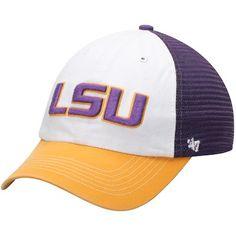 NCAA LSU Tigers Mens Rally Z-Fit Cap Medium//Large Purple//Gold