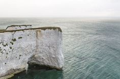 """disconnectionnotice:  The """"Old Harry Rocks"""" in Dorset from Cereal Magazine"""