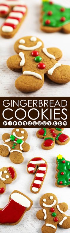 Gingerbread Cookies | These cute little guys are not only tasty, they are EASY! My new favorite gingerbread recipe!