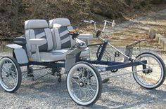 2-Person Cycle Car 4W2P