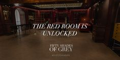 The Red Room is now unlocked. Have a look at www.christiangreysapartment.com. #FiftyShades