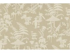 Kravet Couture Print Beige INDO NIGHT.16