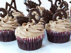 Mocha & Dark Chocolate Cupcakes