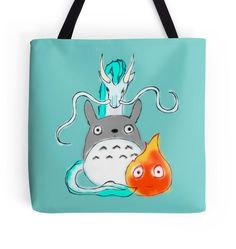 This eclectic movie tote ($18). | 36 Crazy Gifts That Any Miyazaki Lover Will Go Nuts Over