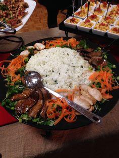 Chicken Yakitori & Jasmine Rice.