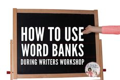 How to use word bank