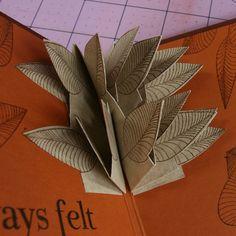 Leaf explosion card tutorial--Club Scrap Creates