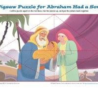 Abraham Had a Son Jigsaw Puzzle | Jigsaw Puzzle on the Birth of Isaac