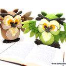 Crochet Tutorials – Owl crochet pattern amigurumi – a unique product by Dinegurumi on DaWanda