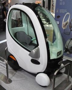HUVO single-seater electric vehicle weighs 150kg only!