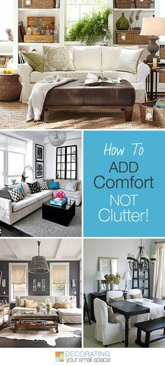 How to Add Comfort,