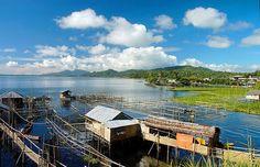 TONDANO Lake   Manado, North Sulawesi - INDONESIA