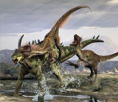 Velociraptors attack...