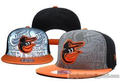 MLB Baltimore Orioles Snapback Hats Adjustable Caps Reflection Of Light