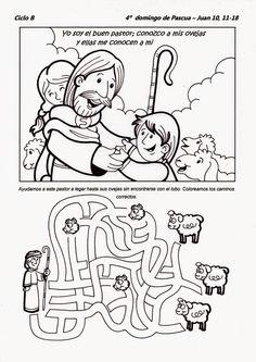 El Rincón de las Melli: 4° domingo de Pascua - CICLO B