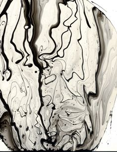 Ink Drawings by Roland Flexner