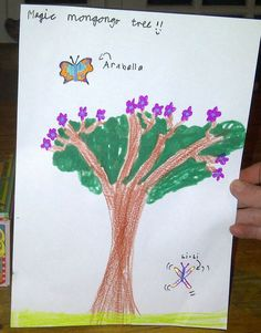 A young Arabella fan imagines the magic Mongongo tree!