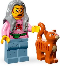 The Lego Movie Mrs. Scratchen-Post Cat Lady Minifigure Series 71004 Features : The Lego Movie Mrs. Scratchen-Post Cat Lady Minifigure Series 71004 Product dimensions : L: x W: Emmet Lego, Crazy Cat Lady, Crazy Cats, Lego Star Wars, La Grande Aventure Lego, Figurine Lego, Lego Building Sets, Black Friday Specials, Lego Minifigs