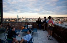Wythe Hotel Rooftop Bar - Williamsburg, Brooklyn Great for a sunset drink!
