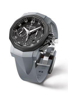 Admiral's Cup Challenger 44 Chronograph Rubber #luxurywatch #Corum-swiss Corum Swiss Watchmakers watches #horlogerie @calibrelondon