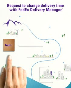 Not at home for your package? No problem. FedEx Delivery Manager lets you request a different delivery time and location. Terms, conditions, and some fees apply.