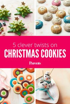 Santa called. He'd like more exciting treats this year. We promise he'll be impressed with these clever twists on classic Christmas cookies.
