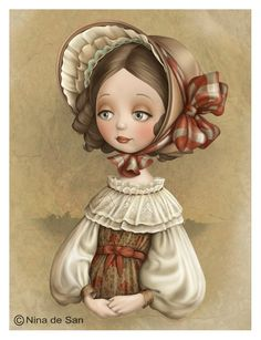 quenalbertini: by Nina de San Fun Illustration, Character Illustration, Creation Photo, Marquis, Whimsical Art, Cute Art, Illustrations Posters, Cute Pictures, Barn