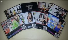 Interactive Drink Coasters by NFCSmartposter on Etsy, $9.99  See how they work at Shttp://www.thinglink.com/scene/344801104371908610#tlsite
