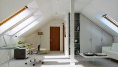 Nowoczesny projekt domu Na miarę 1 Dream House Plans, Interior Inspiration, Exterior, How To Plan, Cabinet, Storage, Furniture, Car Garage, Villas