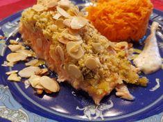 Lachs im Rohr mit Karottensalat