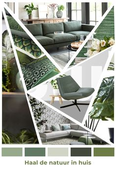 Minimal House Design, Minimal Home, Green Interior Design, Create A Board, Living Spaces, Living Room, Outdoor Furniture Sets, Outdoor Decor, House Rooms