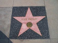 Hollywood walk of Fame star for ELVIS!!!