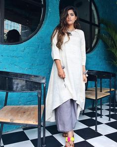 Fashion Work Book Shirts 63 Ideas For 2019 Dress Indian Style, Indian Outfits, Chic Outfits, Girl Outfits, Gucci Outfits, Kritika Khurana, Boho Fashion Summer, Dress Link, Boho Girl