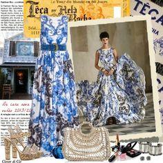 Closet di Cló para Desafio Mundo Fashion - Longos - by Claudia Nunes - Desfile Têca 2014 - 2. lugar no desafio de outubro de 2013.