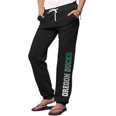 So Low Oregon Ducks Womens Name Fade Lounge Pants - Black