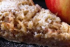 Prajitura de mere cu gris