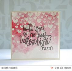 January 2015 Release Day 1: Introducing Falling Hearts   Be My Valentine   Full of Love Sequin Mix!  - Products and inspiration from Neat And Tangled: http://neatandtangled.blogspot.com/