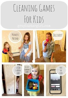 Cleaning Games for Kids (race the clock sounds like a great one for boys!!)